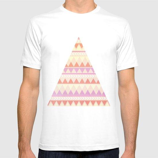 Summer Aztec Pattern T-shirt