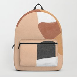 Unstable column - simple shapes minimalist design Backpack