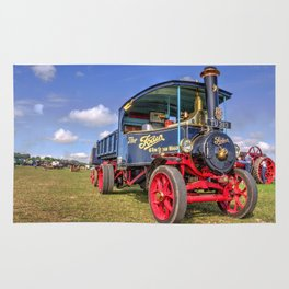 The Foden Steam Wagon Rug