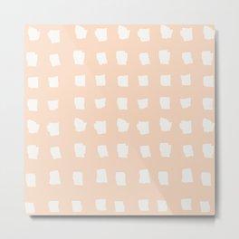 Coit Pattern 72 Metal Print