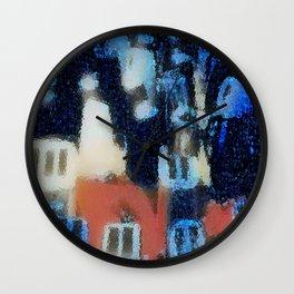Morningtown Wall Clock