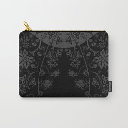 floral ornaments pattern bgr Carry-All Pouch
