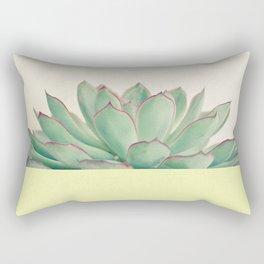 Succulent Dip II Rectangular Pillow