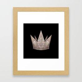 Crown, Queen 2 Framed Art Print