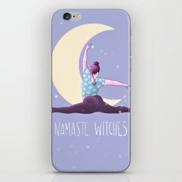 Namaste Witches, Yoga, Weronika Salach iPhone Skin