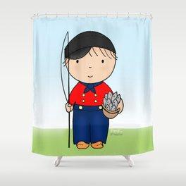 Fisherman Ferdi Shower Curtain