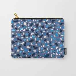 Terrazzo Blue Sky Carry-All Pouch