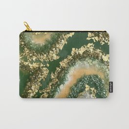 Geode Resin Art Carry-All Pouch