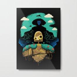 Sky Castle Automaton Metal Print