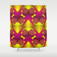dragonball z Shower Curtains featuring Flowers Z by Vitta