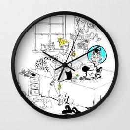 Skype Call Wall Clock