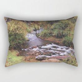 Fall dreams. Retro autumn Rectangular Pillow