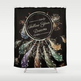 Dream Follower Shower Curtain