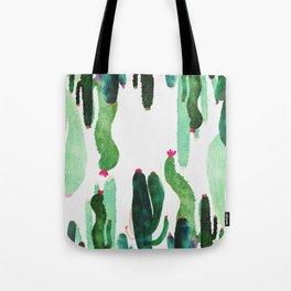 vertical cactus 2.0 Tote Bag