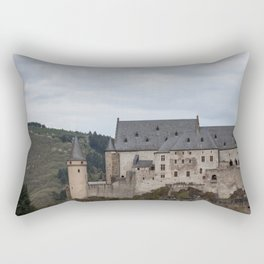 Vianden Castle Rectangular Pillow