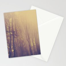 Sunbeams in the Forest Stationery Cards