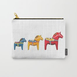 Dala horses Carry-All Pouch