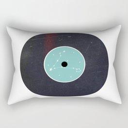 Vinyl Record Star Sign Art | Pisces Rectangular Pillow
