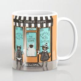 The Corner Shoppe for Cats Coffee Mug