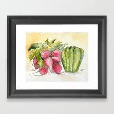 Produce I Framed Art Print