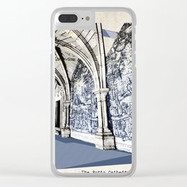 Porto post card Clear iPhone Case