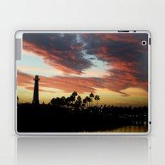 Sunset at Shoreline Aquatic Park Laptop & iPad Skin
