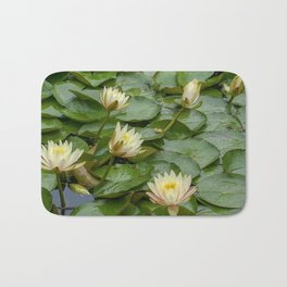 Lotus Blossoms Bath Mat