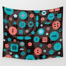button it Wall Tapestry