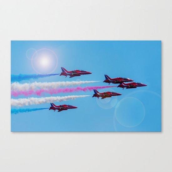 ARROWS IN FLIGHT Canvas Print