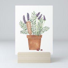 Lavender & Rosemary Mini Art Print