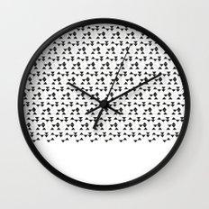 Triangle Rain Wall Clock