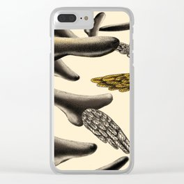 Flying noses Clear iPhone Case
