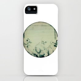 Calling All Skeletons No.6 iPhone Case