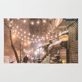 Snow - New York City - East Village Rug