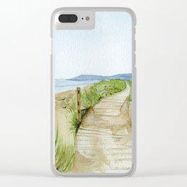 Inverness Beach Clear iPhone Case