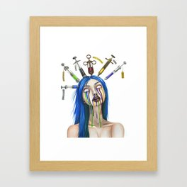Chemical Imbalance Framed Art Print