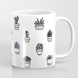 Succulents Coffee Mug