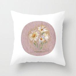 Flor V (Flower V) Throw Pillow