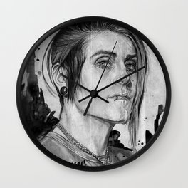The Flame Wall Clock