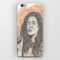 oitnb iPhone & iPod Skins featuring Nichols OITNB by Ashley Rowe