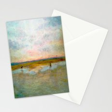 Hayling Beach Horses Stationery Cards