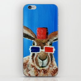 Who Hare iPhone Skin