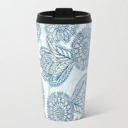 In my blue garden Travel Mug