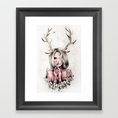The Antlers  Framed Art Print