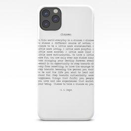 Chances iPhone Case