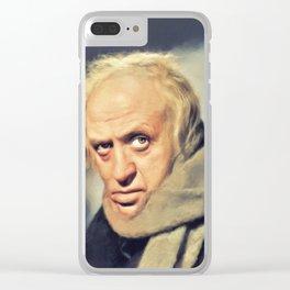 Alastair Sim, Vintage Actor Clear iPhone Case