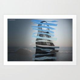 Crooked you Art Print