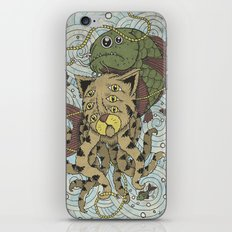 Mr Octopus & The One That Got Away iPhone & iPod Skin