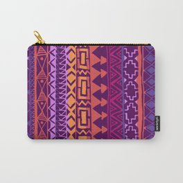 Purple Aztec  Carry-All Pouch