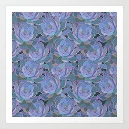 Succulent Dreams Art Print